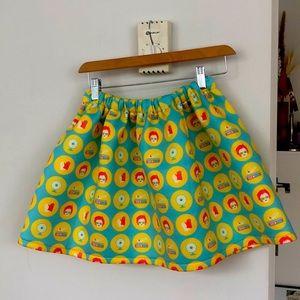 ALEX S YU Graphic Skirt